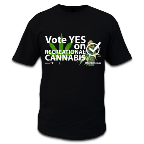 Vote Yes on Recreational Cannabis - Kushman Tees